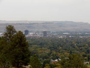 Billings viewed from Highway 3