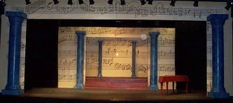 Amadeus by Peter Shaffer. Direction, design and lighting by Marc Beaudin.
