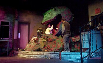 Little Shop of Horrors by Alan Menken & Howard Ashman. Design and lighting by Marc Beaudin.