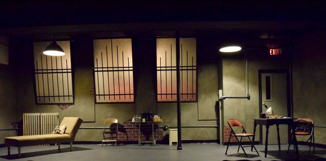 Venus in Fur by David Ives. Design by Marc Beaudin & Dale Ruhd. Scenic painting & lighting design by Marc Beaudin.