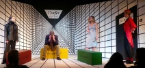 No Exit by Jean-Paul Sartre, translated, adapted, direction, design by Marc Beaudin